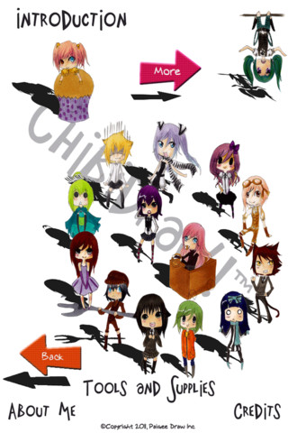 ChibiDraw Free iTunes iOS