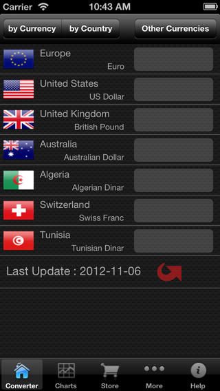 Currency converter## iTunes iOS