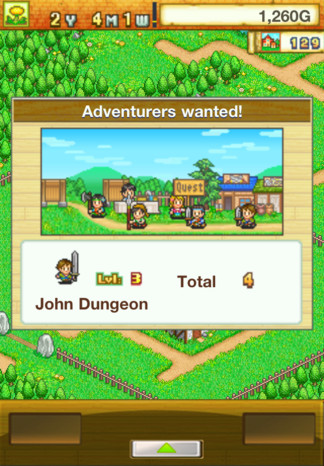 Dungeon Village game