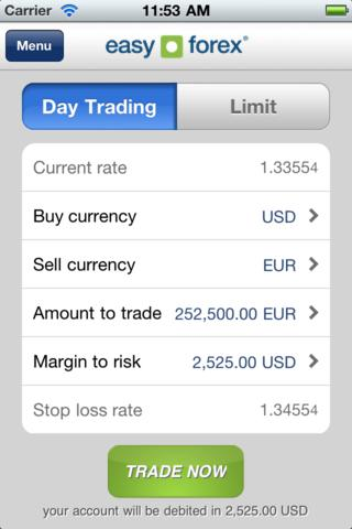 Easy Forex Apps iOS Android
