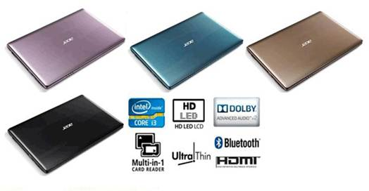 Acer Aspire V5-431 color