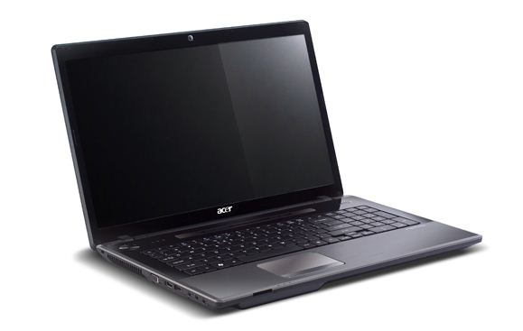 Acer Aspire AS4752 open lid design