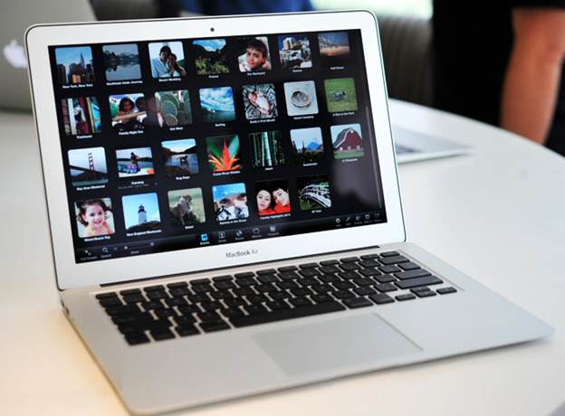 Apple Macbook Air 11 display