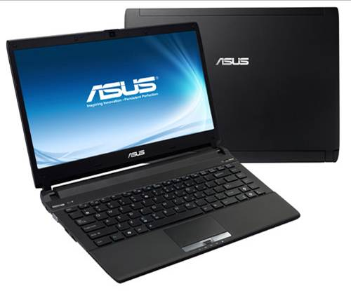 Asus U44SG excellent speaker system high resolution screen chicklet keyboard smart touchpad multi touch open lid grand design