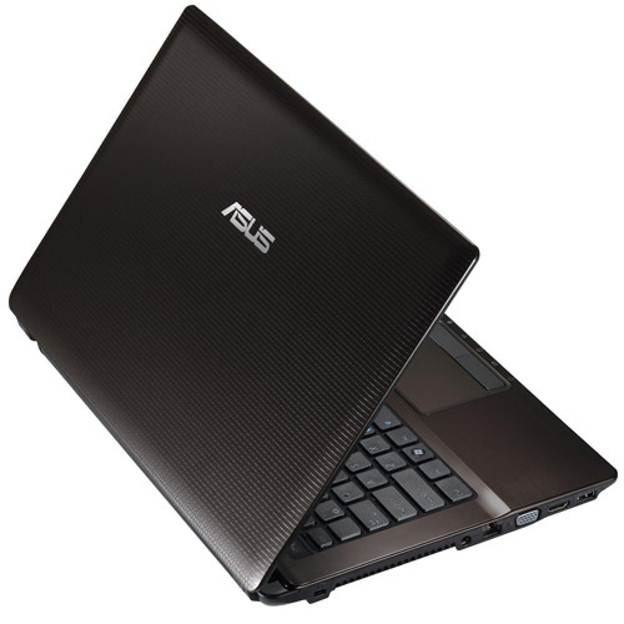 laptop Asus K45A half close performance black design VGA HDMI windows fast response USB 3.0 cooling system i7 ivy bridge