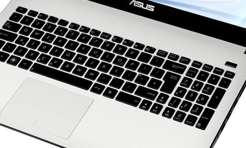 Asus X501A keyboard and touchpad