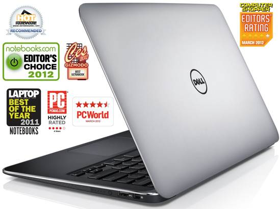 Ultraboook DELL XPS 13 L321X Awards