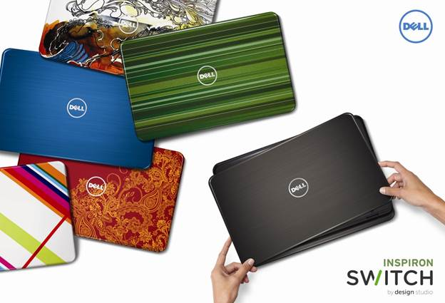 DELL Inspiron 14R N4110 Changeable Cover