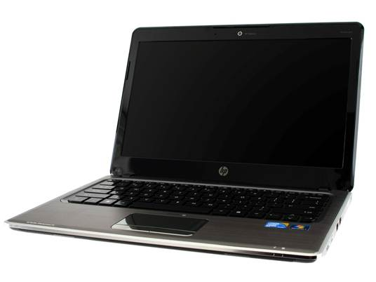 HP Pavilion DM3-1018TX design open lid black