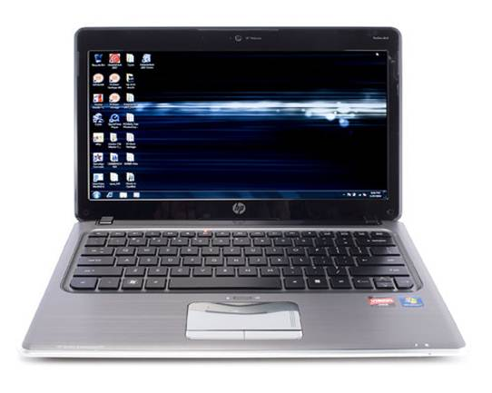 HP Pavilion DM3-1018TX another grand design look silver and black color