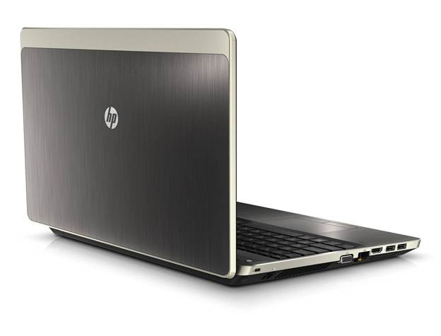 HP Probook 4430s design back open lid