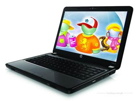 HP Pavillon G4 full colorful open lid attractive design