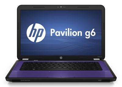 HP Pavilon G6 blue design high resolution camera open lid