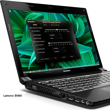 Lenovo B460 open lid grand design