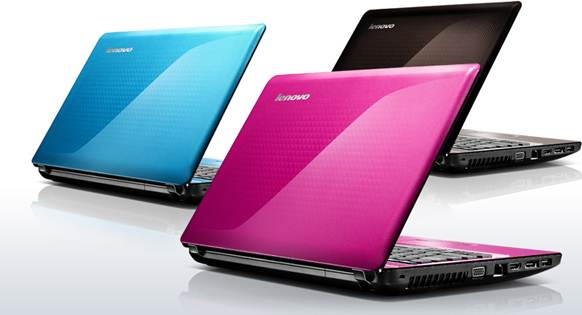 Lenovo G470 colors blue pink black