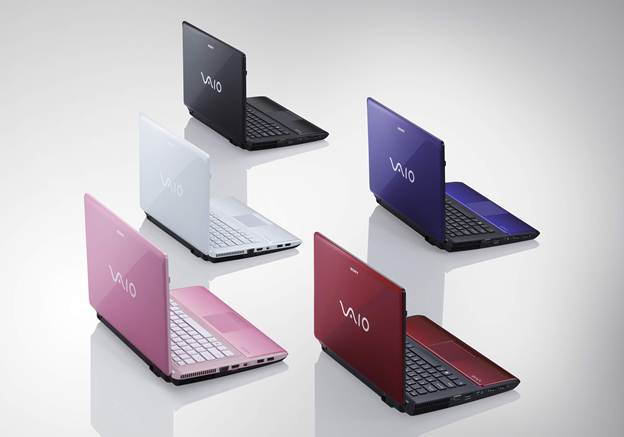 Sony Vaio E series VPC-EG23FX/W colorful