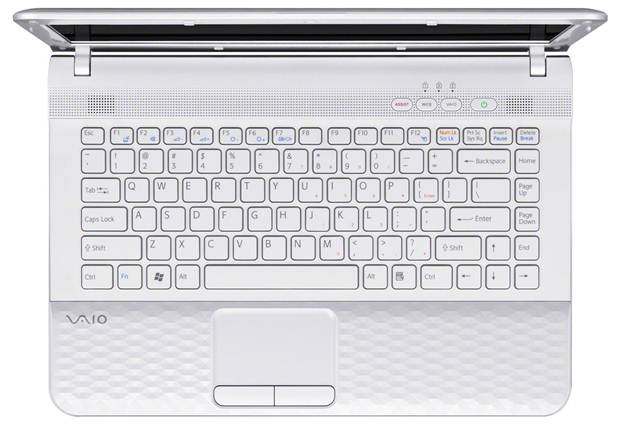 Sony Vaio E series VPC-EH32FX/P Pink touchpad keyboard