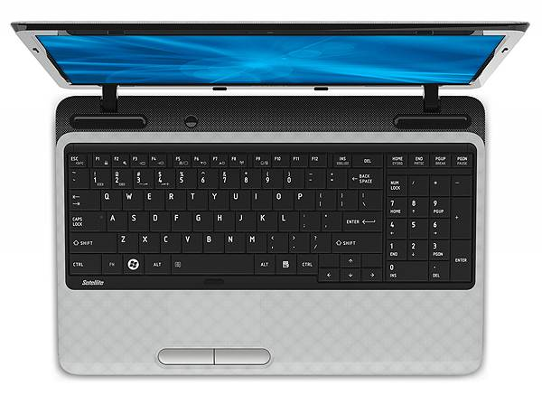 Toshiba Satellite L755 keyboard layout