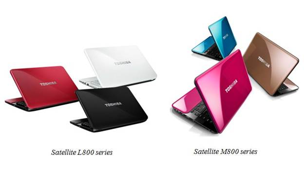 Toshiba Satellite L840 color