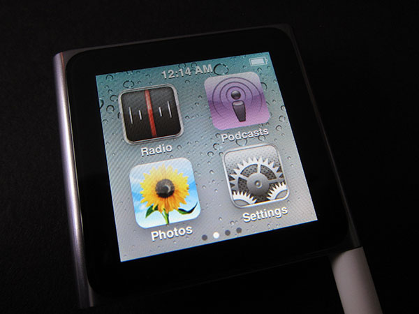 Apple iPod Nano 16GB gen 6