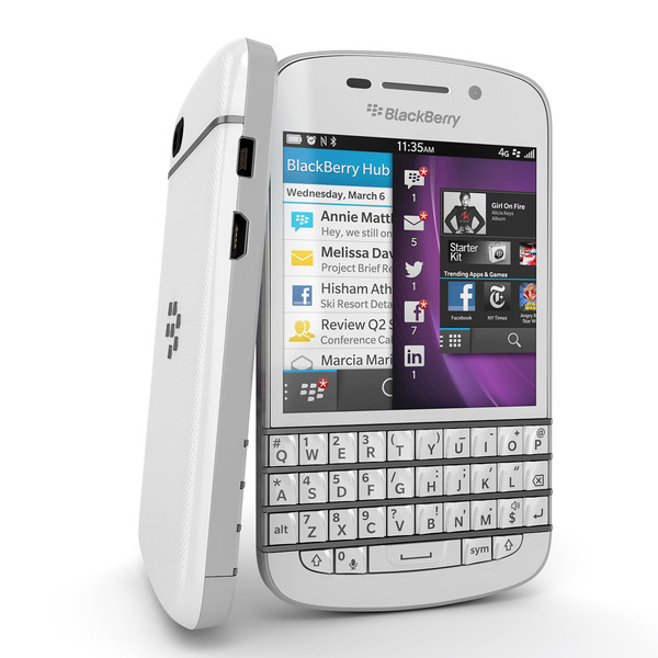 BlackBerry Q10 - White