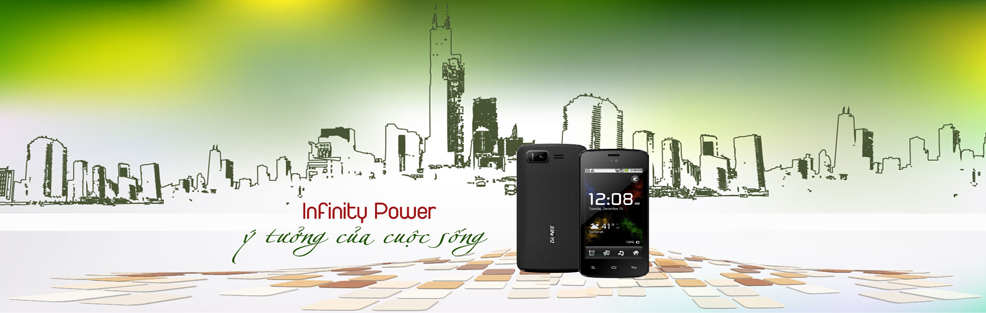 Gionee Infinity Power banner