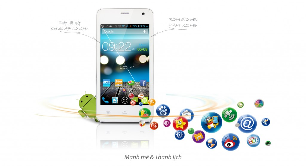 điện thoại Mobiistar Touch Bean 402