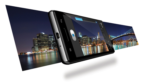 LG Optimus L9 P768 sở hữu camera 8.0MP
