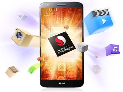 LG G2 với chip Snapdragon 800