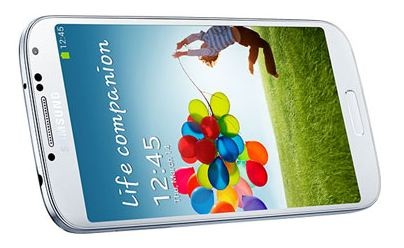 Samsung Galaxy S4 with
