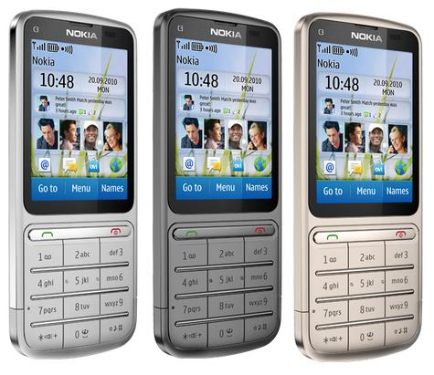 Nokia C3-01 Touch and Type với kết nối3G