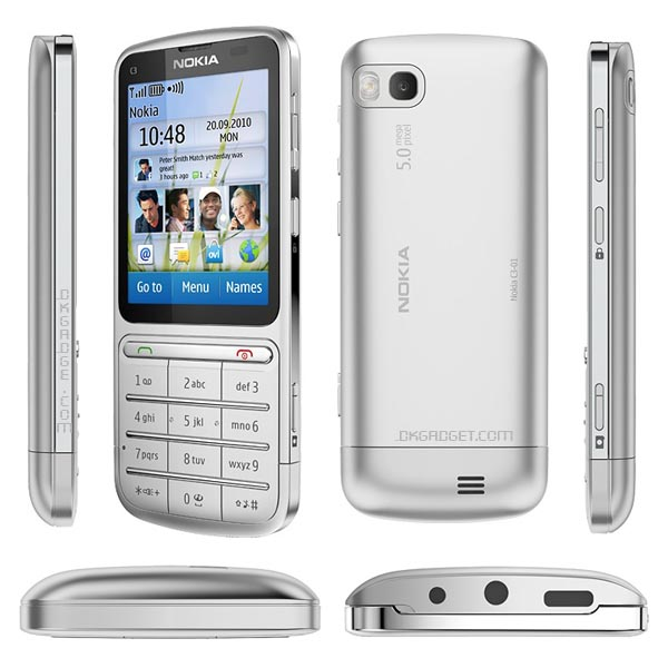dien thoai Nokia C3-01 Touch and Type