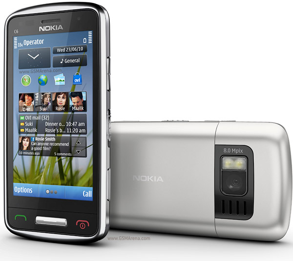 Nokia C6-01 với camera 8 mp