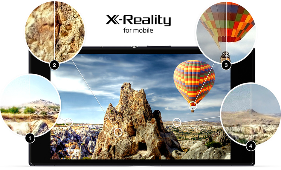 Sony Xperia™ Z Ultra with X-Reality for mobile