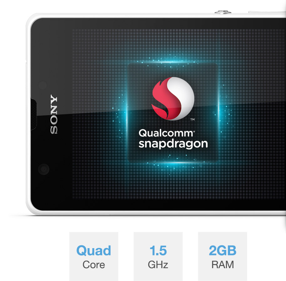 Xperia™ ZR snapdragon quad-core