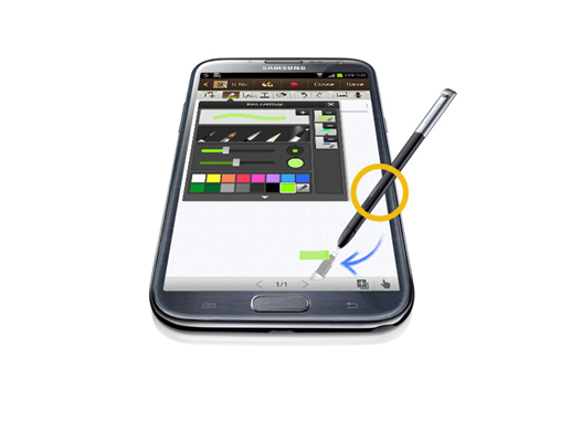Ứng dụng Pop-up Note  Samsung Galaxt Note 2