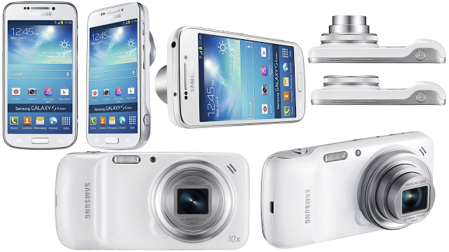 Samsung Galaxy S4 zoom side