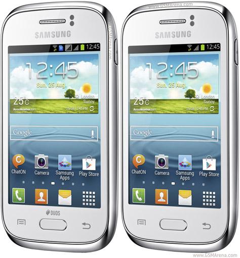 Thiết kế Samsung Galaxy Young, phong cách trẻ