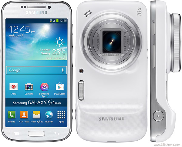 Samsung Galaxy S4 zoom design