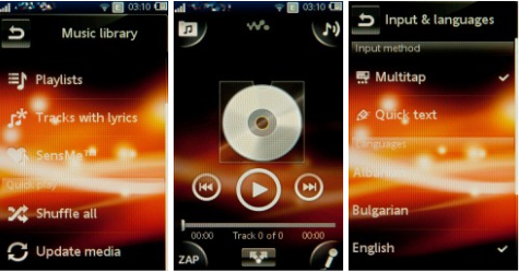 music Sony Ericsson Mix WalkmanWT13i Music