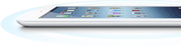 Apple New iPad 16GB 4G (Ipad 3 2012) Lighter Thinner