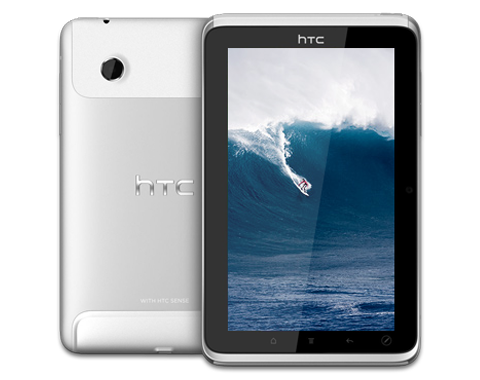 HTC Flyer tablet design