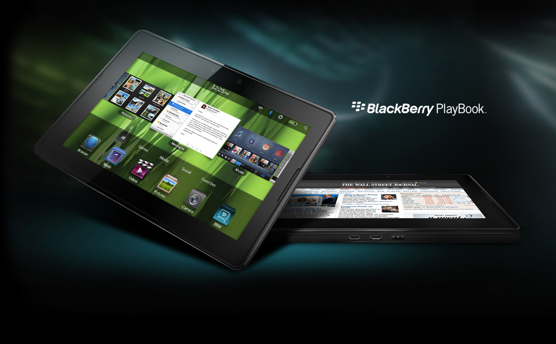 BlackBerry PlayBook design