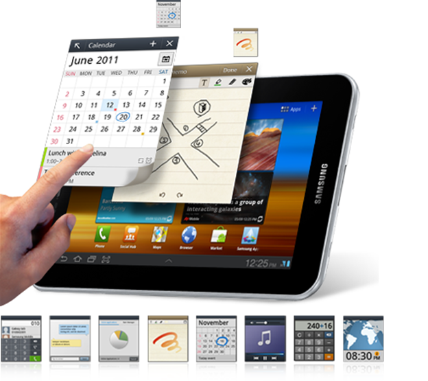 Samsung Galaxy Tab 7.7 P6800 MultiTask