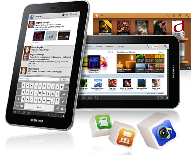 Samsung Galaxy Tab 7.7 P6800 Apps