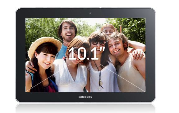 Samsung Galaxy Tab 10.1 3G P7500 Screen