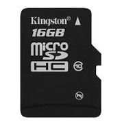 Micro SD 16Gb Kingston class 10