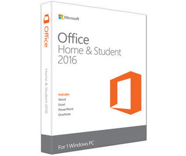 Office Home Student 2016 32bit/64bit (FPP)