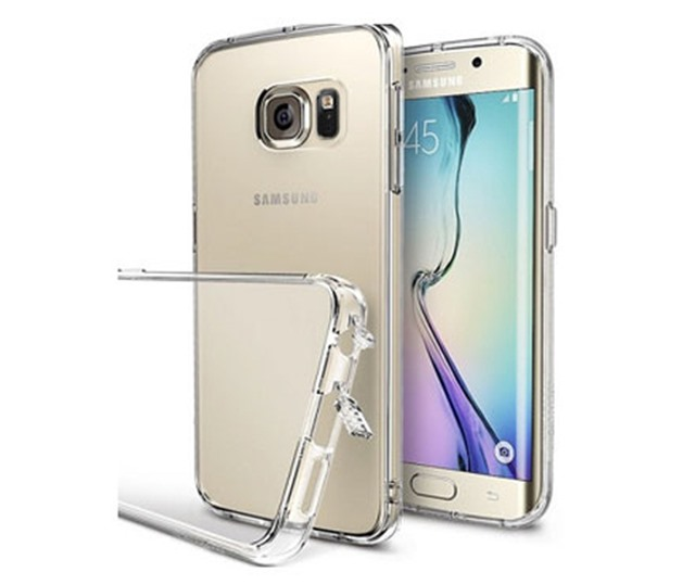 Ốp lưng iSmile Galaxy S6 Edge silicon Trong suốt