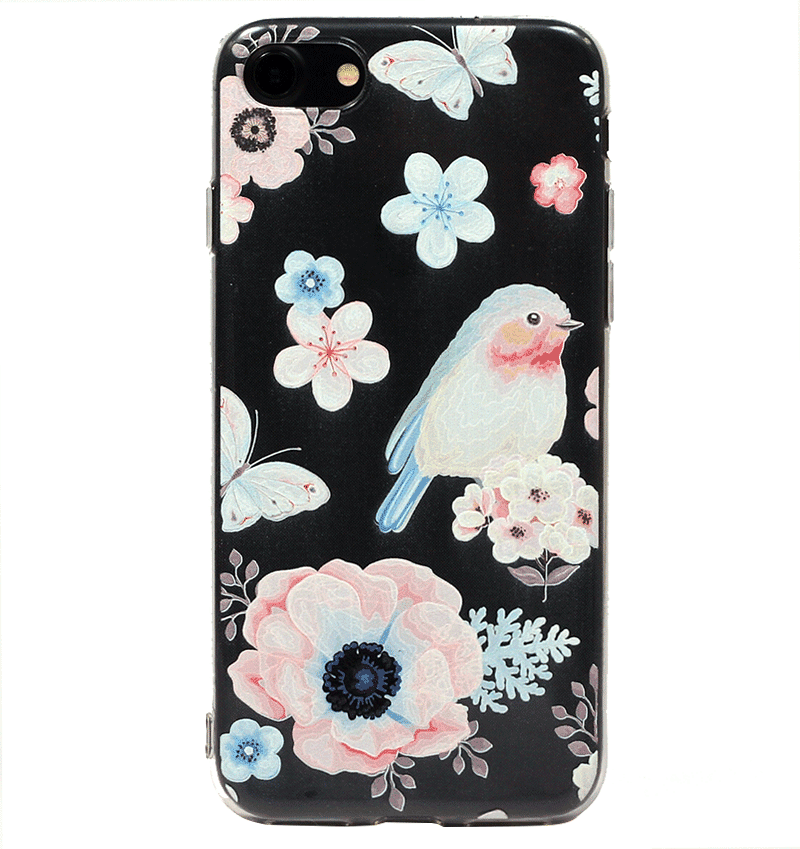 Ốp lưng iPhone 7 Silicon baby bird